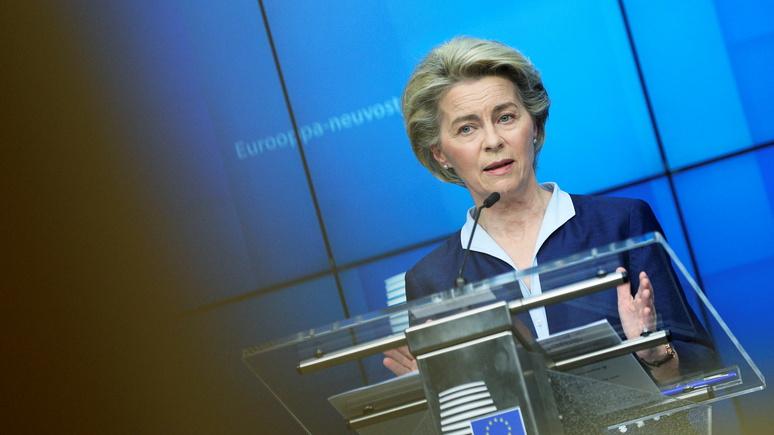 Das Erste: Европарламент будет плотнее контролировать работу Еврокомиссии на фоне «вакцинных» неудач