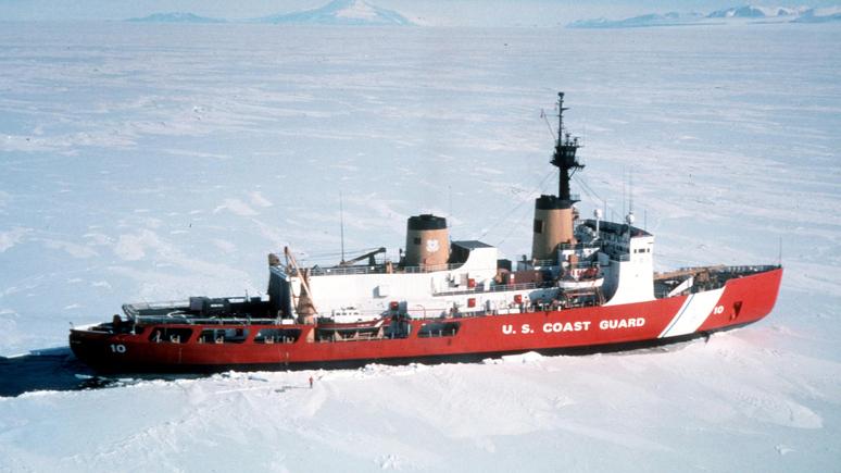 Insider: «арктические амбиции» — капитан единственного ледокола США пожаловался, что корабль разваливается на части