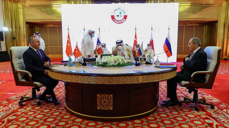 HDN: Россия, Турция и Катар заявили о решимости бороться с терроризмом в Сирии
