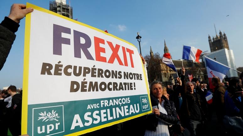 Обозреватель Le Figaro: после пандемии фрексит стал весьма возможен