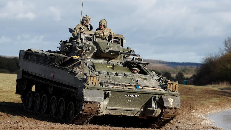 DN: британские парламентарии предрекли поражение танковым войскам своей страны в сражении с Россией