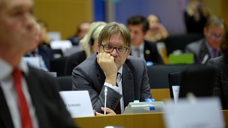 DT: очередная демократическая идея ЕС превратилась в «бюрократический фарс»