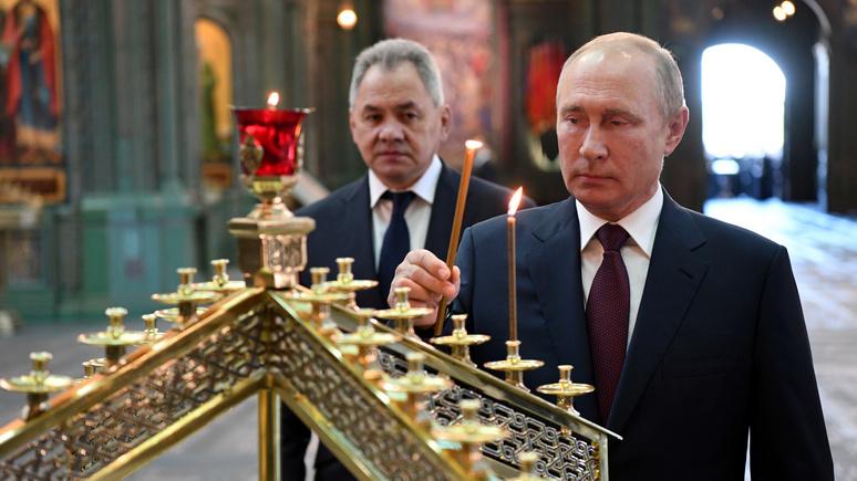 DWN: Путин возрождает в России христианство в пику западному нигилизму