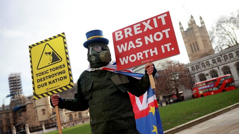 Guardian: брексит ударил по экспорту продуктов питания и напитков из Великобритании в ЕС
