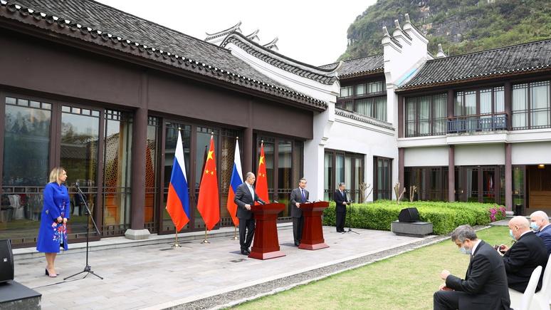Conversation: Россия и Китай теперь говорят с США по-новому