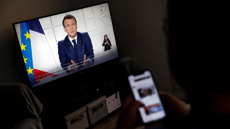Le Figaro: сказал как отрезал — Макрон пошёл на решительные меры, чтобы остановить третью волну пандемии