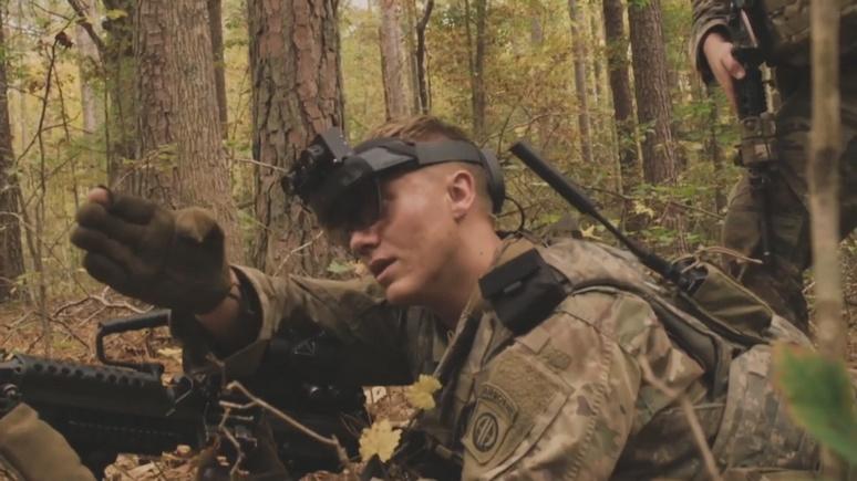 CNBC: Microsoft создаст для Сухопутных войск США 120 тысяч гарнитур дополненной реальности