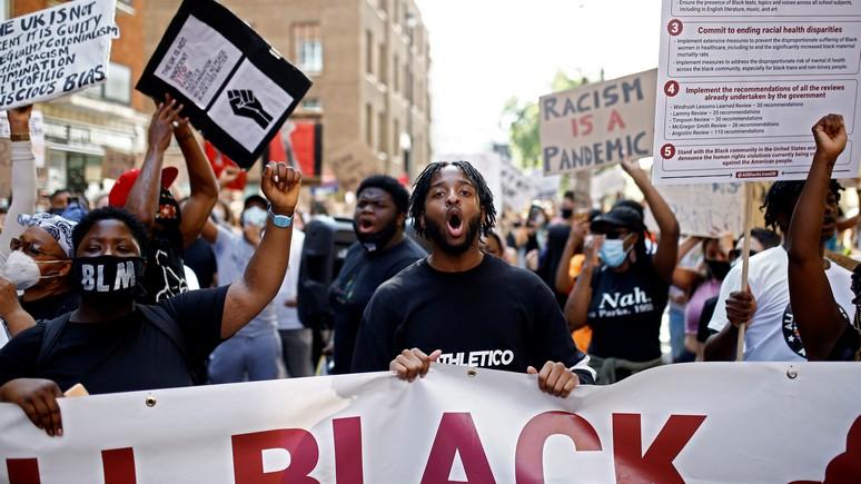 Le Figaro: радикальные сторонники «борьбы с расизмом» лишь разобщают британское общество