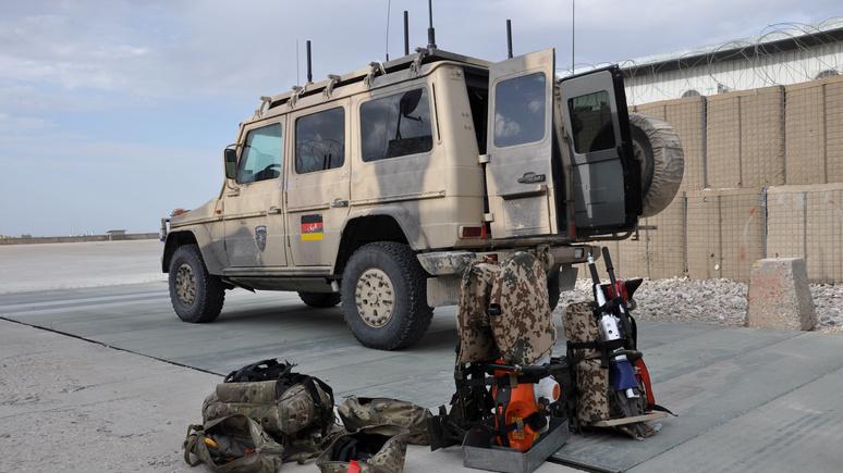 Das Erste: бундесвер укрепляет свой афганский контингент, опасаясь агрессии «Талибана»