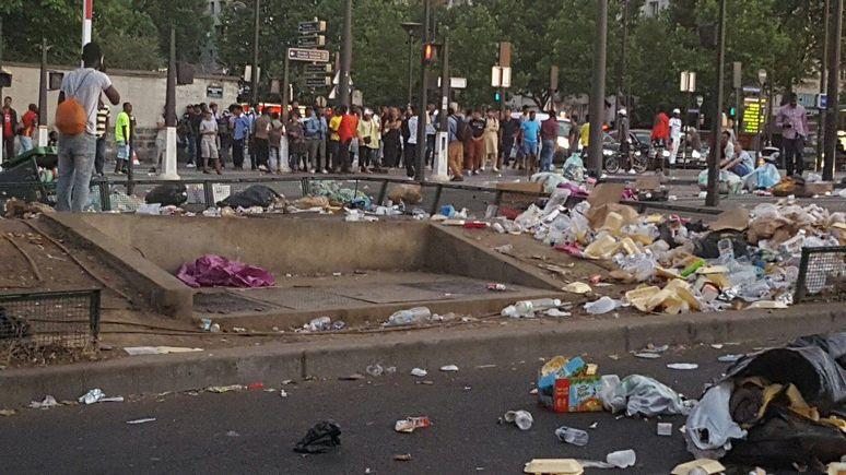 Valeurs actuelles: «больше похоже на Бомбей» — парижане винят власти в превращении Парижа в мусорку