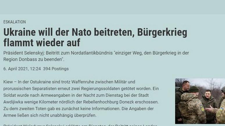 Обозреватель: украинский посол отчитал австрийскую газету за гражданскую войну в Донбассе