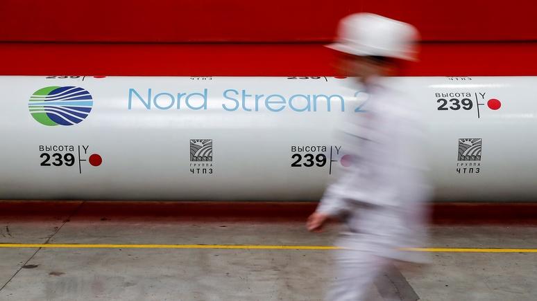 DN: санкции по «Северному потоку — 2» могут рассорить США с Германией