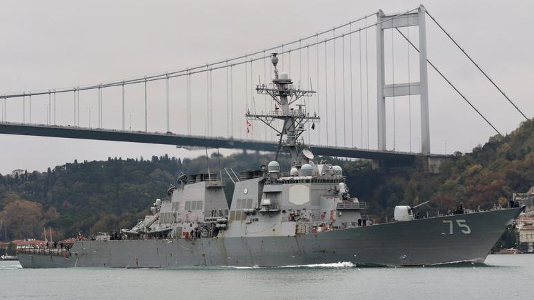 Contra Magazin: Россия не оставит без ответа отправку американских военных кораблей в Чёрное море