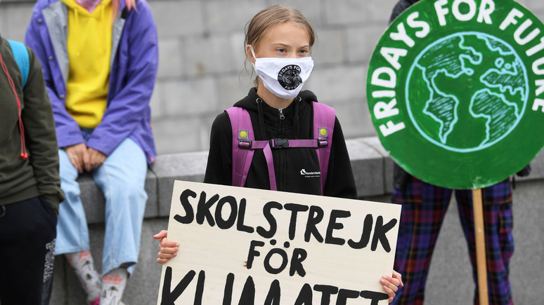 Independent: Грета Тунберг отказалась ехать на конференцию ООН по климату из-за неравного доступа к вакцинам