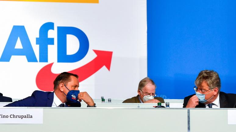 Bild: партия АдГ провозгласила целью выход Германии из ЕС