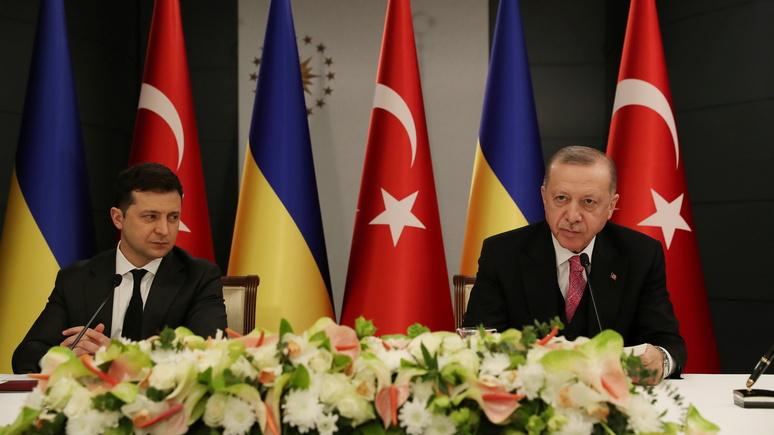 Hill: Эрдоган призвал положить конец «тревожной эскалации» на границе между Россией и Украиной