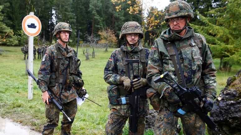 Die Welt: немецкие военные в США привились от коронавируса быстрее своих коллег в ФРГ