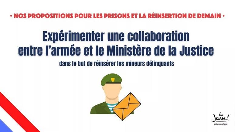 Le Figaro: «Молодёжь за Макрона» предложила одеть провинившихся французов в русские тельняшки
