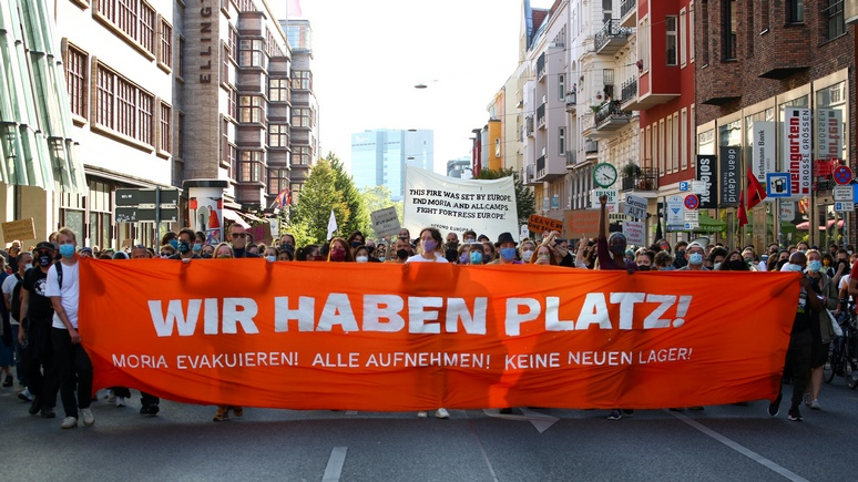 SZ: в Германии насчитали столько беженцев, сколько не было с послевоенного времени