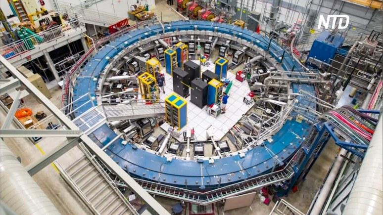 NTD: новые эксперименты в коллайдерах ставят под сомнение общепринятую модель Вселенной
