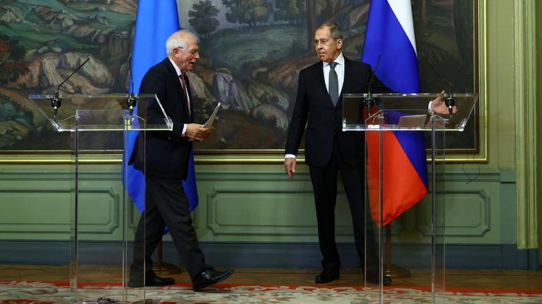 NZZ: ЕС не будет вводить новых антироссийских санкций из-за Украины