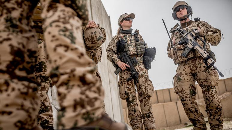 FAZ: «похоже на бегство» — Германия планирует вывести войска из Афганистана раньше, чем США