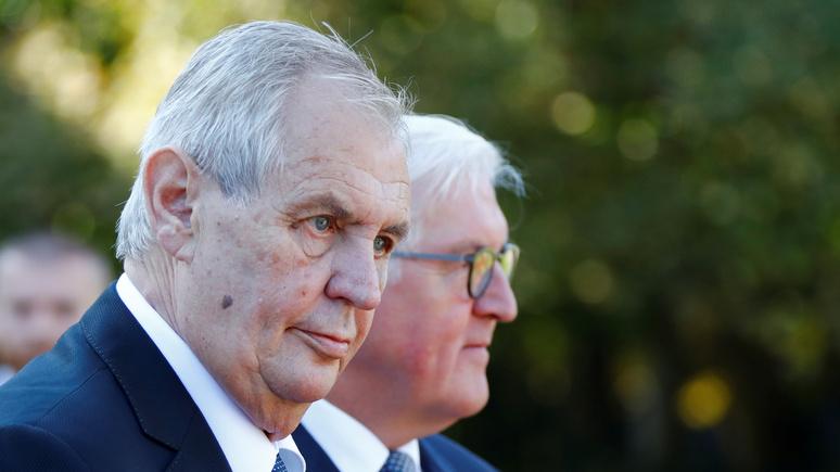 RND: «давайте без истерик» — президент Чехии высказал альтернативные версии взрывов во Врбетице
