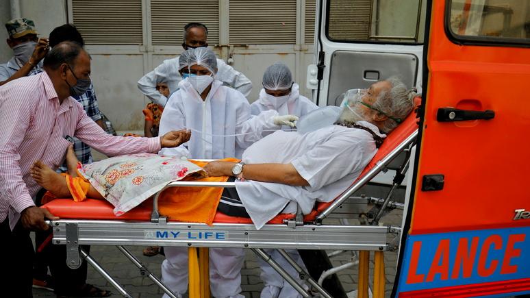 Sky News: «следующие недели будут адом» — индийские врачи предупредили о дальнейшем ухудшении ситуации с коронавирусом