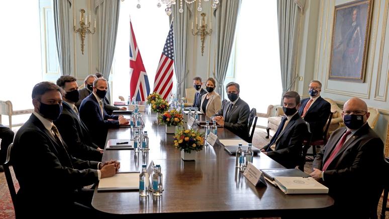 Welt: министры G7 собрались в Лондоне для ужесточения курса в отношении России и Китая