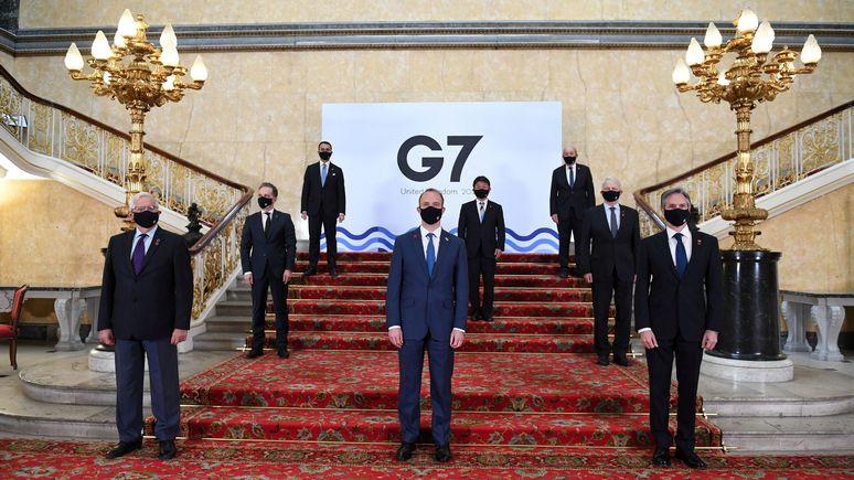 N-TV: саммит G7 не помог США и Германии прийти к согласию по «Северному потоку — 2»