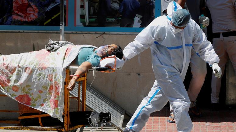NYPost: Индия вновь побила собственные антирекорды по новым случаям заражения и смерти от COVID-19