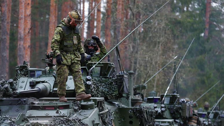 SRF: новые учения НАТО отрабатывают вторжение на оккупированную противником территорию