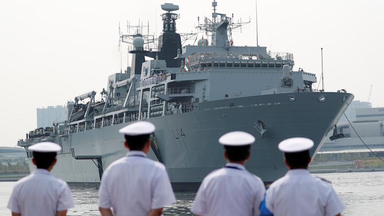 DE: противодействие «российской агрессии» — Великобритания направит в Балтийское море десантный корабль