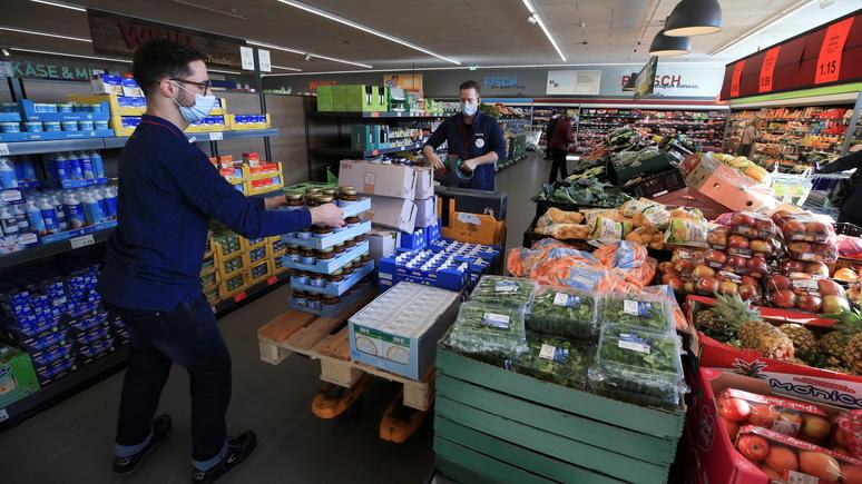 N-TV: немецкие потребители могут столкнуться с резким ростом цен на продукты