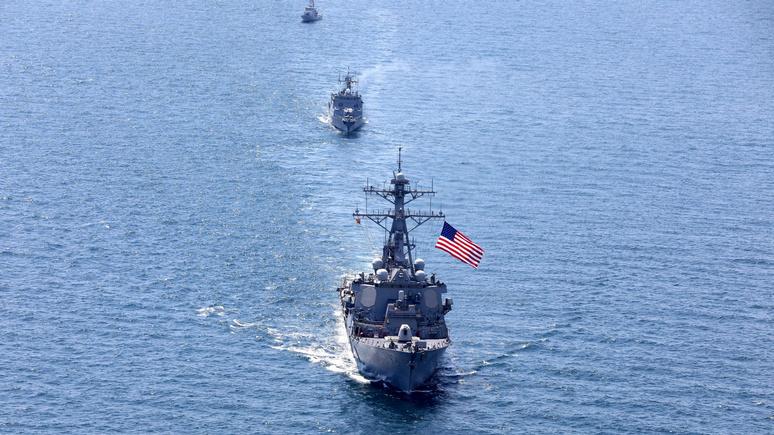 Contra Magazin: масштабные военно-морские учения подготовят США к «войне великих держав»