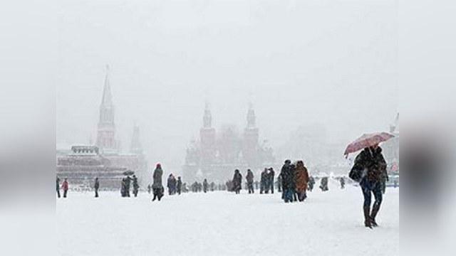 Российский антициклон заморозил Европу
