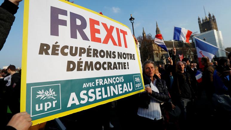 DE: повод для беспокойства — лишь 15% французов поддерживают ЕС в его нынешнем виде