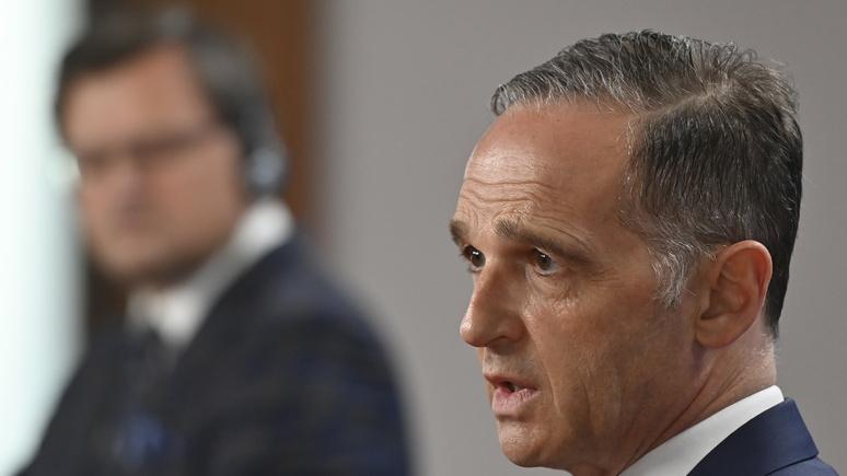 SZ: Маас поддержал возобновление переговоров по Украине в «нормандском формате»