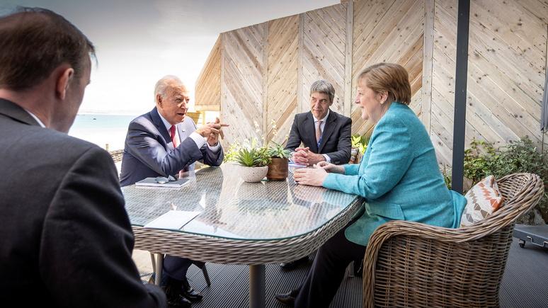 Die Welt: уход Меркель с поста канцлера облегчит Байдену создание коалиции против Китая