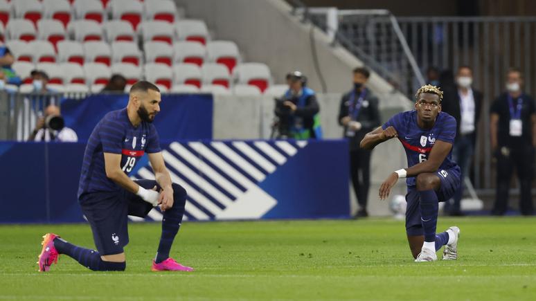 «Если мы должны делать это, пусть делают все» — игроки французской сборной отказались преклонять колено в поддержку BLM