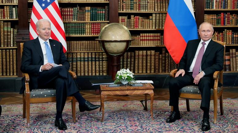 NBC: на саммите Байден обошёлся  без угроз или ультиматумов, но предупредил Путина о последствиях российского вмешательства