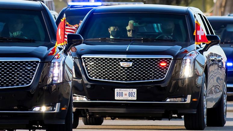 «Зверь» против «Ауруса» — Daily Mail сравнила лимузины Байдена и Путина