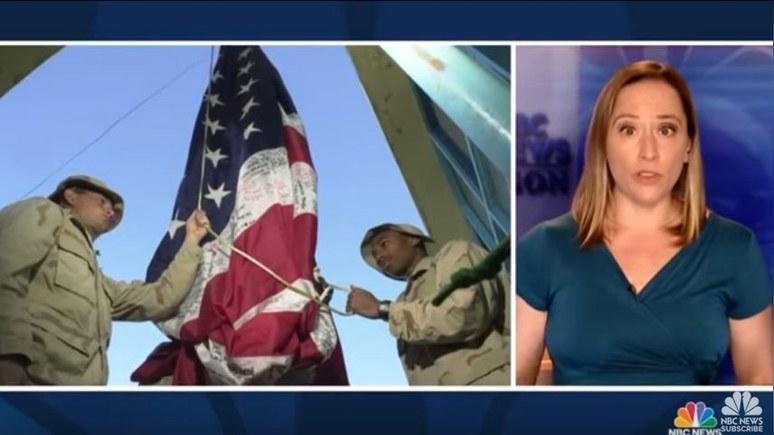 NBC News: «Разве это конец войны?» — церемонию спуска флага в Кабуле США отменили во избежание недопонимания — ИноТВ