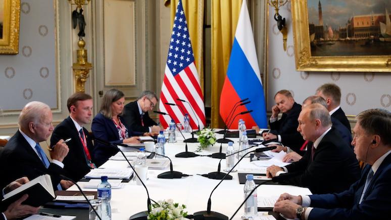 Polskie Radio: женевский саммит наглядно показал, что никакой стратегии в отношении России у США нет — ИноТВ