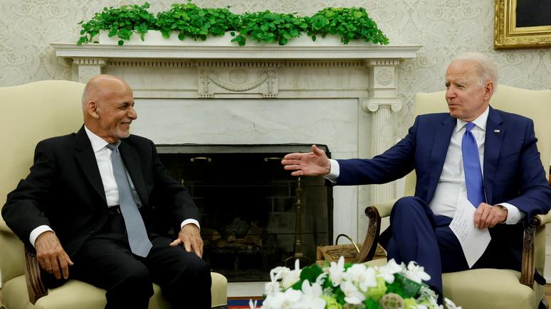 NYT: Байден заверил Афганистан в поддержке после вывода войск — и призвал распоряжаться своей судьбой самостоятельно