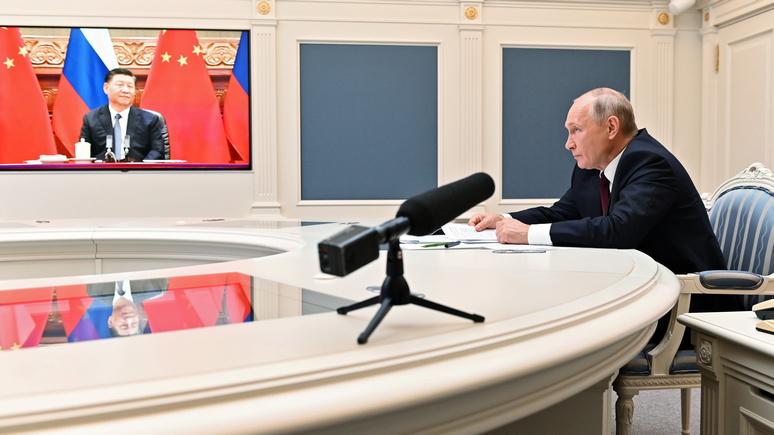 От действий других держав не пострадали: GT оценила отношения Пекина и Москвы после встречи Си Цзиньпина и Путина