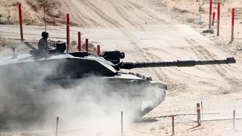 Times: Минобороны Великобритании отложило испытания танков, опасных для здоровья солдат