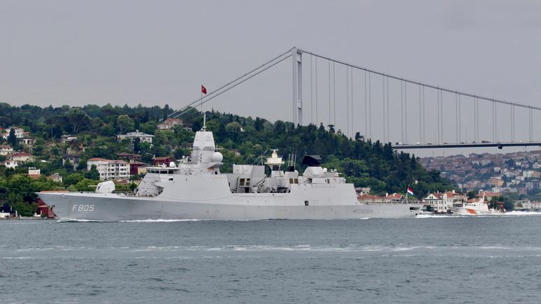 Der Spiegel: Нидерланды обвиняют Россию в «имитации атак» на их фрегат в Чёрном море