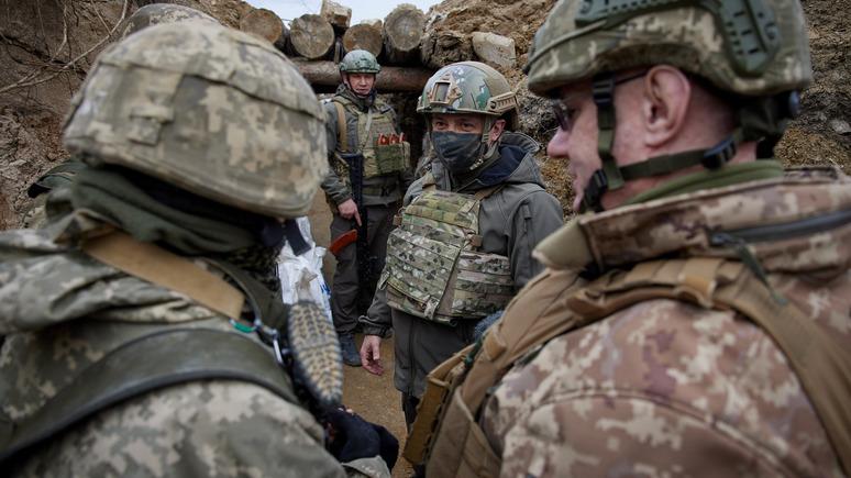 Корреспондент: Украина предложила НАТО Донбасс для тестирования нового оборудования