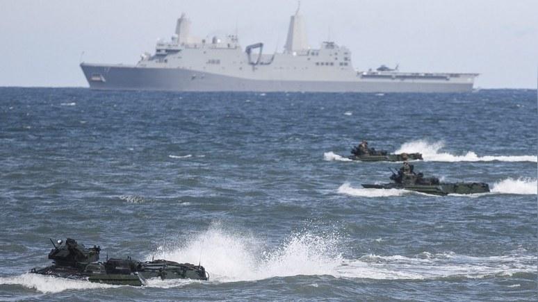 TVP Info: НАТО наглядно продемонстрировало, что Чёрное море это не «частный бассейн Путина»